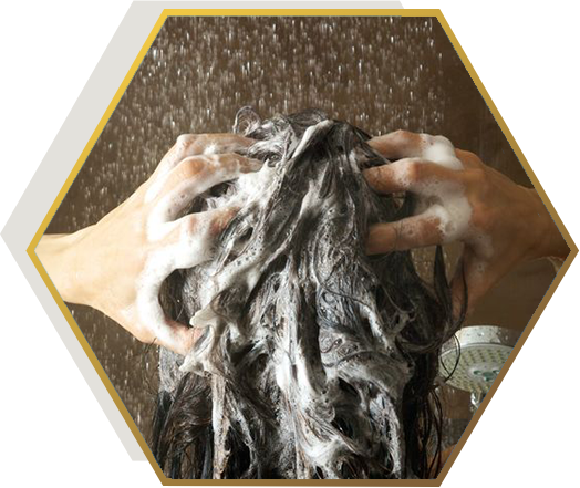 frequent shampooing causes hair fall- myth or fact-jonsson protein singapore