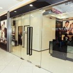 Jonsson Protein main entrance door of hair salon small size