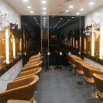 Jonsson Protein hair treatment salon interior design small size