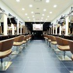 Jonsson Protein hair treatment area salon interior design