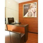 Jonsson Protein consultation area at hair salon