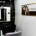 Jonsson Protein interior design of hair treatment private room in salon