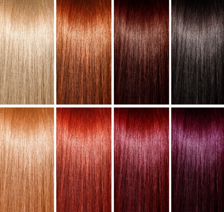 Jonsson Protein chart for hair coloring or hair dyeing