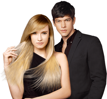 Jonsson Protein male and female hair models
