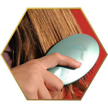 Jonsson Protein hair brush hair for healthier hair