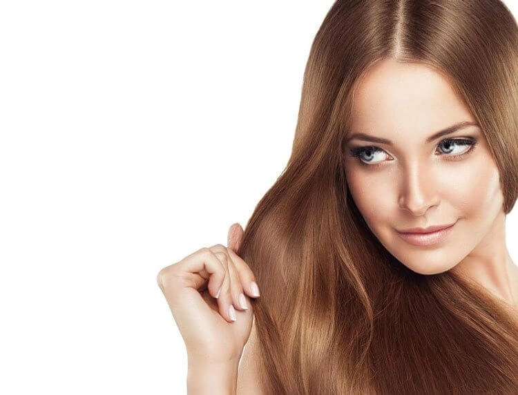 Jonsson Protein model with smooth straight hair